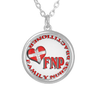 FNP FAMILY NURSE PRACTICIONER MEDICAL LOGO CUSTOM NECKLACE