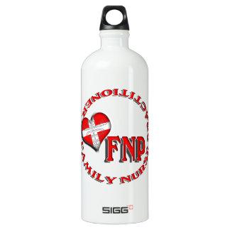 FNP FAMILY NURSE PRACTICIONER MEDICAL LOGO WATER BOTTLE