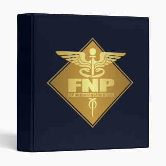 FNP (gold)(diamond) 3 Ring Binder