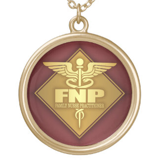 FNP (gold)(diamond) Gold Plated Necklace