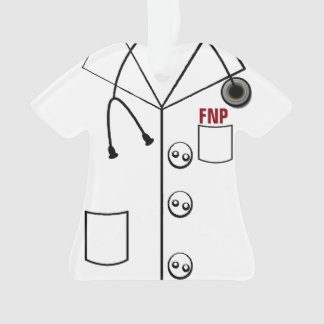 FNP LAB COAT ORNAMENT CHRISTMAS (CUSTOMIZABLE)