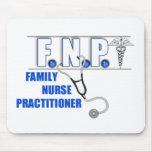 FNP  LOGO  STETHOSCOPE FAMILY NURSE PRACTITIONER MOUSE PAD