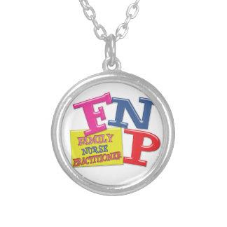 FNP WHIMSICAL ACRONYM FAMILY NURSE PRACTITIONER PENDANTS