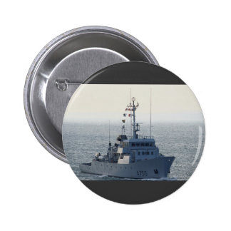 """FNS Lion"""", French minesweeper, approaching Portsmo Pin"""