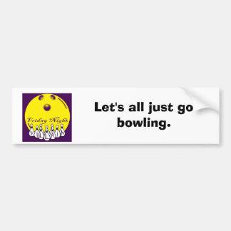 fnvlogo Let s all just go bowling Bumper Sticker