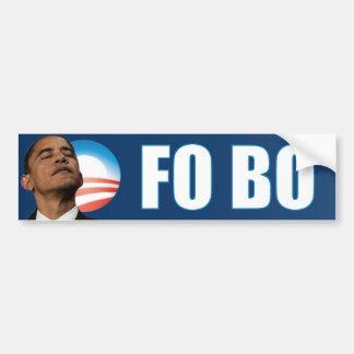 FO Barack Obama - FO BO Bumper Sticker