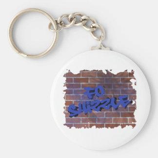 fo shizzle graffiti  design keychain