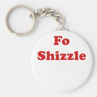 FO Shizzle Llaveros Personalizados