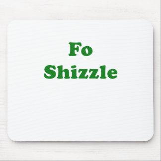 FO Shizzle Alfombrilla De Ratones