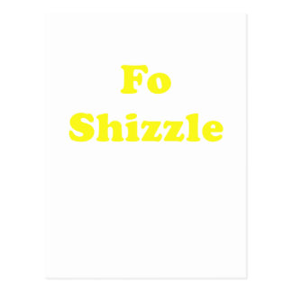 FO Shizzle Tarjetas Postales