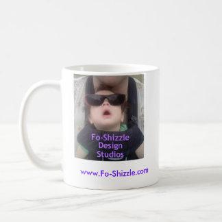 Fo-Shizzle White Ceramic Mug