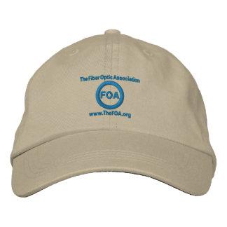 FOA logo embroidered cap