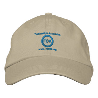 FOA Logo Embroidered Cap Embroidered Baseball Caps