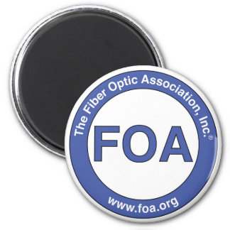 FOA logo magnet