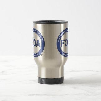 FOA logo travel mug