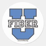 FOA - Pegatinas grandes de la fibra U