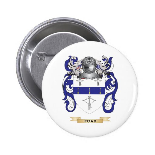 Foad Coat of Arms 2 Inch Round Button