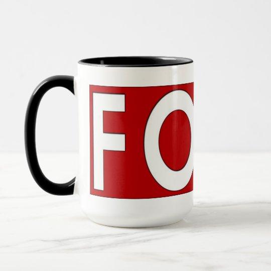 FOAD: Do Not Disturb! Mug