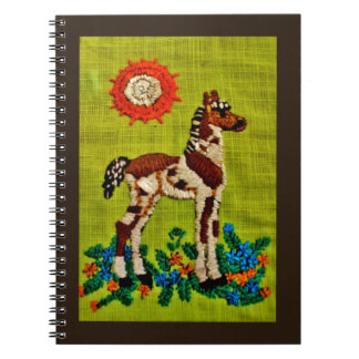 Foal Embroidery Notebook