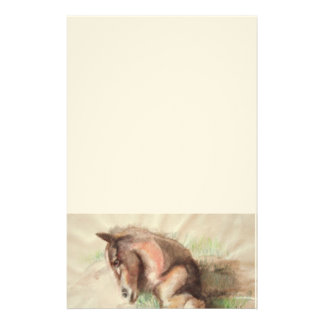 Foal Relaxing Stationery