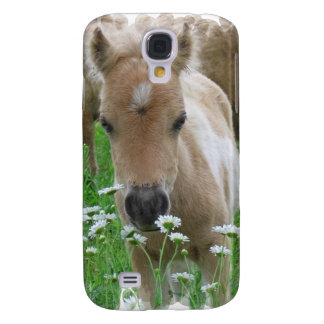 Foal Smelling Daisies iPhone 3G Case Galaxy S4 Cases