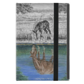 Foal Water Reflection of Horse Case For iPad Mini
