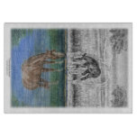Foal Water Reflection of Horse Cutting Boards
