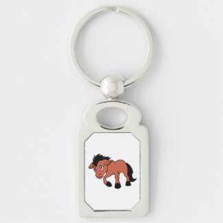 Foal Young Horse National Horse Protection Day Keychain