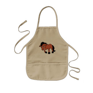 Foal Young Horse National Horse Protection Day Kids' Apron