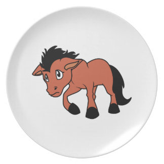 Foal Young Horse National Horse Protection Day Dinner Plates