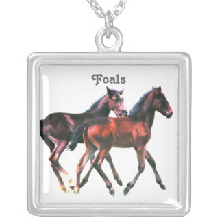 Foals Playing Necklace