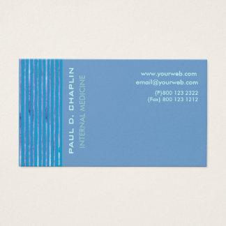 Foam Blue Cutting Edge Business Card