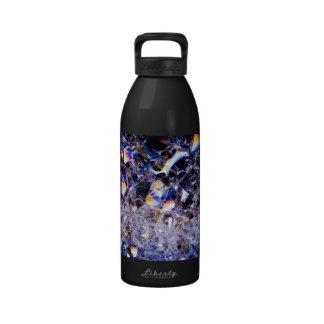 foam bubbles drinking bottles