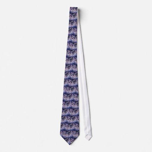 foam bubbles neck tie