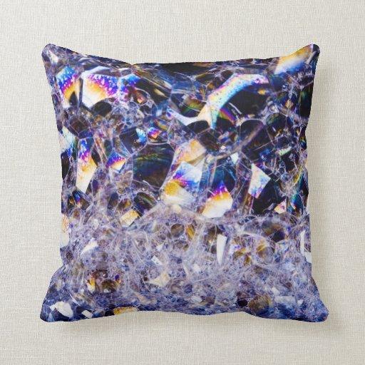 foam bubbles pillows