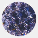 foam bubbles round stickers