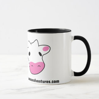 Foam Cow Head Mug