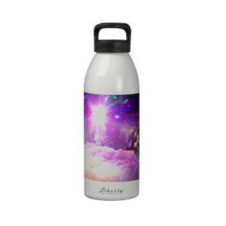 Foam Laser Lights Reusable Water Bottles