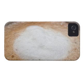 Foam on cappuccino, close-up iPhone 4 Case-Mate case