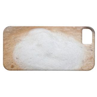 Foam on cappuccino, close-up iPhone SE/5/5s case