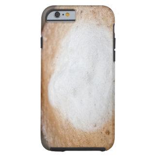Foam on cappuccino, close-up tough iPhone 6 case