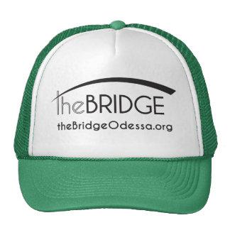 foam original bridge logo style trucker hat