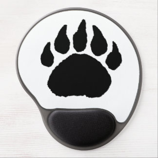 Foam pad - Bear Paw Print Gel Mouse Pad