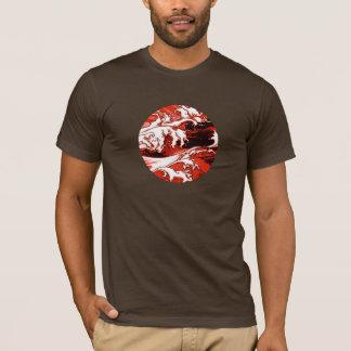 Foam, red, comic style, tee-shirt man T-Shirt