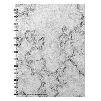 Foam Texture Spiral Notebook