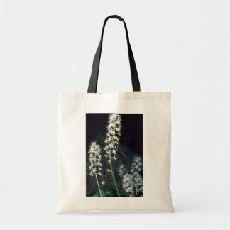 Foamflower (Tiarella Cordifolia) flowers Budget Tote Bag