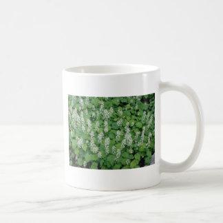 Foamflower (Tiarella Cordifolia) flowers Classic White Coffee Mug