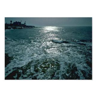 Foaming Sea 5x7 Paper Invitation Card