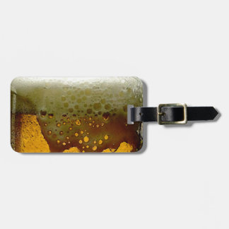 Foamy Beer Tags For Luggage