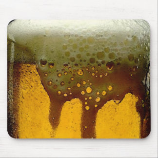 Foamy Beer Mouse Pad